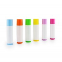 LIP BALM TUBE & CAP -  Colored + White