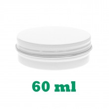 60ml White Tins