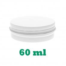 60ml White Tins