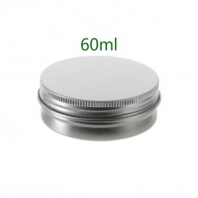 60ml Silver Tins