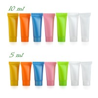 Cream Tubes 5ml / 10ml, Screw Cap